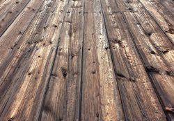 Unikke og raffinerede plankeborde i ægte upcycled Azobé træ