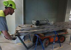 Nem flytning af byggemateriel med en Flexmover